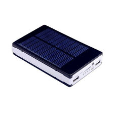 100000mAh Dual USB Portable Solar Battery Charger Power Bank