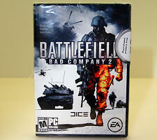 (NEW-NFR) Battlefield: Bad Company 2 (PC, 2010) Not For Resale version