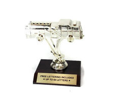 Fire Engine Trophy # 2- Fireman- Firefighter- Desktop Series- Free Lettering