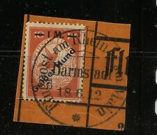 Germany   CL4  used  on piece  ,  nice  item         MS0219