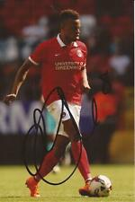 CHARLTON: JORDAN COUSINS SIGNED 6x4 ACTION PHOTO+COA