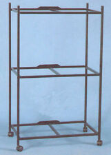 """3 Tiers Stand for 30'x18'x18"""" Aviary Bird Cage Black -4164-658"""