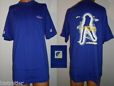 ♥♥♥ Tee shirt Whisky BALLANTINE'S XL bleu Collection illumination ♥♥♥