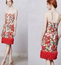 ANTHROPOLOGIE NWT SZ 2 $248 LUISA POPPY DRESS BY PETER SOM LAST 1!