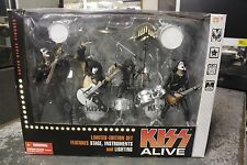 KISS Alive 2002 Super Stage Figures Limited Edition Set McFarlane Toys  NEW