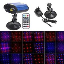 Mini Projector Voice control Laser Stage Lighting Club Disco Party Light R&B