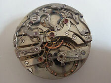 Rare lecoultre pocket watch chronograph movement for repair/parts project