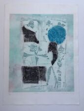 "SHOICHI HASEGAWA b1929 ""Fossile"" Limited Edition ETCHING hand signed"