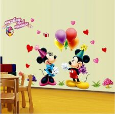 BabyRoom Decor Art Vinyl Micky Mouse  Mural Wall Decals Removable Stickers