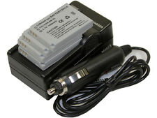 New 4 piece NB-5L Camera Battery and Charger For IXY Digital SD800 SD850 SD870
