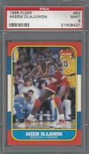 1986 Fleer Akeem Olajuwon Rockets HOF PSA 9 RC