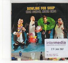(FB556) Bowling For Soup, High School Never Ends - 2007 DJ CD