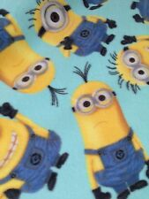 Despicable Me Minions Minion Polar Fleece Fabric by the yard