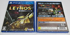 Assault Suit Leynos PS4 remake de Mega Drive Clásico Valken PlayStation 4 JPN