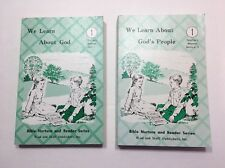 We Learn About God's People 1 - Teacher's Manual Units 1 & 4, 5 (2 Books)