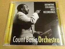 JAZZ CD / COUNT BASIE ORCHESTRA - DEFINITIVE COLUMBIA BEST RECORDINGS