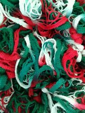 holiday ruffle scarf