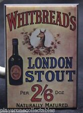 "Whitbread's London Stout 2"" X 3"" Fridge Magnet. Vintage British Beer Advertising"