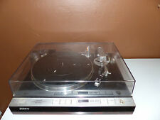 Sony PS-X75 Plattenspieler Stereo Turntable System mit Satin / Denon