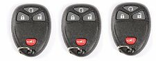 3 New Replacement Remote Start Keyless Entry Car Key Fob Clicker for 15913421