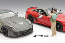CAMERA MAN SCOTT FOR 1:18 SCALE DIECAST MODELS BY AMERICAN DIORAMA 77735
