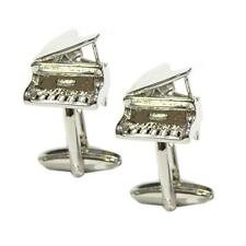 Grand Piano CUFFLINKS Pianist Music Teacher Cruise Party Formal Present Gift Box
