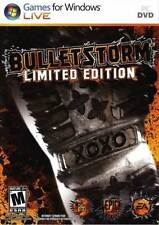Bulletstorm - Limited Edition Additional Content Intense Shooter Action PC NEW