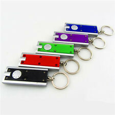 Portable LED Camping Keyring Torch Keychain Flashlight Lamp