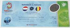Ticket for collectors EURO 2008 * Romania - Netherlands Holland in Bern GREEN