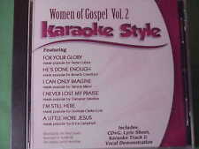 Women of Gospel #2 ~ Christian ~Daywind ~Karaoke Style ~ He's Done Enough ~ CD+G