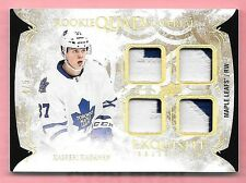 16/17 Exquisite Collection Spectrum #KK Kasperi Kapanen Quad Rookie Patch #4/5