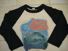 Vintage Jimmy Buffett and the Coral Reefer Band concert tour Raglan T Shirt M