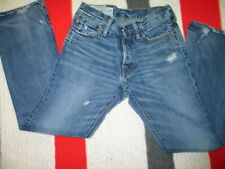 Abercrombie & Fitch Lot Of 2 Jeans Low Rise and Baxter Low Rise Slim Boot 28X30
