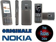 Nokia 6300i Grey (sin bloqueo SIM) 3 band wlan 2,0mp radio original Nokia bien OVP
