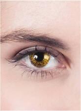 Gold Kontaktlinsen Halloween Horror Rot Weiß Jahreslinsen ohne Stärke