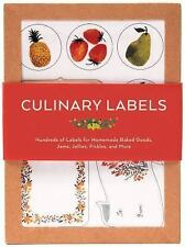 Culinary Labels: Hundreds of Labels for Homemade Baked Goods, Jams, Jellies, Pic