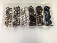 120 Piece Assorted Box Genuine Starlock Washers For Metric Round Shaft 8mm-16mm
