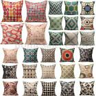 Casual Style Vintage Cushion Cover Throw Pillow Covers for Home Sofa Decoration