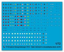 Peddinghaus  1/72 0702 Englische Panzer und Fahrzeugmarkierungen II. WK