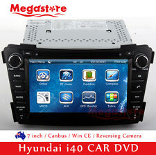 "7"" Car CD DVD Player GPS Nav Radio Stereo For Hyundai i40 2011-2013"