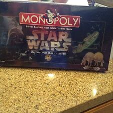MONOPOLY Star Wars Limited Collector's Edition By Parker Brothers.