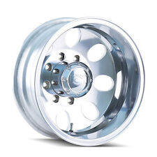 "16"" Ion 167 Dually Polished Wheels Rims 8x170 Ford F350 1999-2004"