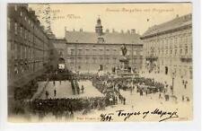 AK Wien I, Innerer Burgplatz mit Burgmusik