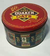 "Vintage 1983 Limited Edition Pure Quaker Oats Collectible Tin 7"" x 4"" - Nice!"