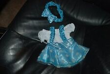 Ice Blue Skating outfit for 18'' American Girl Dolls