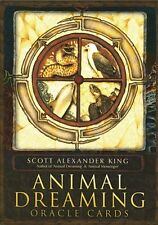 NEW Animal Dreaming Oracle Cards Deck Scott Alexander King