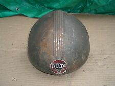 Vintage Delta Milwaukee drill press front pulley cover guard  cast iron