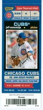 2013 Cubs vs Padres Ticket: Cody Ransom & Scott Hairston hit HRs