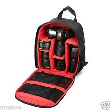 Tigernu DSLR Camera Backpack Waterproof with Free Rain Cover (Red)