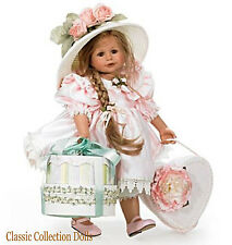 "Ashton Drake  ""THE FANCY HAT"" - BEAUTIFUL 24"" GIRL DOLL - NEW - IN STOCK NOW !"